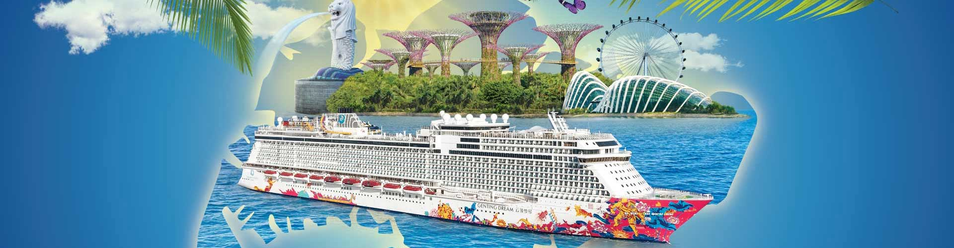 Cruises From Southampton >> Dream Cruise Packages:- Book Singapore & Hong Kong Dream Cruise Packages   DPauls Travel